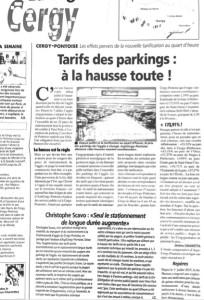 Article Aspic La gazette parking L3